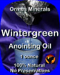 Ormus Minerals Wintergreen Anointing Oil